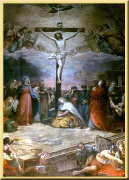 The Crucifixion                                               by Constantino Brumidi
